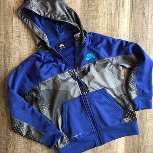 Nike boys zip up jacket